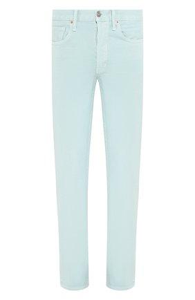 Мужские джинсы TOM FORD светло-голубого цвета, арт. BUJ35/TFD002 | Фото 1