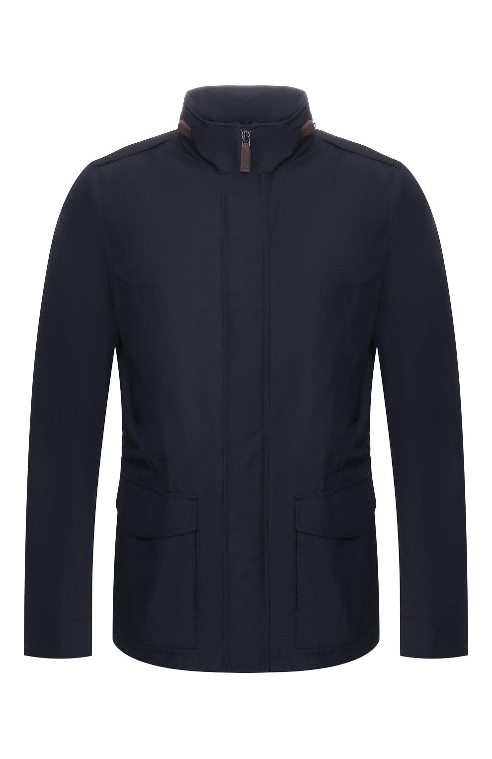 Мужская куртка HERNO темно-синего цвета, арт. FI0061U/12010   Фото 1