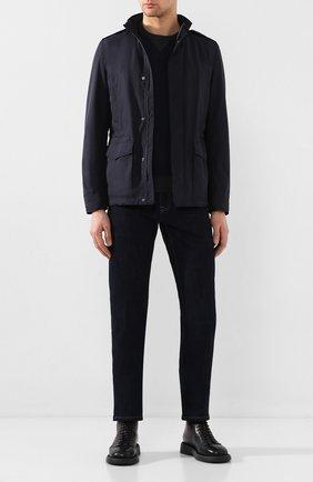 Мужская куртка HERNO темно-синего цвета, арт. FI0061U/12010 | Фото 2