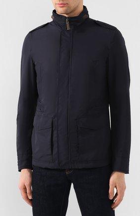 Мужская куртка HERNO темно-синего цвета, арт. FI0061U/12010   Фото 3