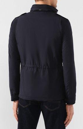 Мужская куртка HERNO темно-синего цвета, арт. FI0061U/12010   Фото 4