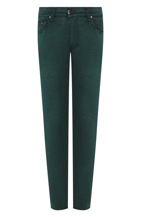 Мужской брюки AMIRI зеленого цвета, арт. Y0M09459VE | Фото 1