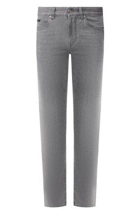 Мужские джинсы Z ZEGNA светло-серого цвета, арт. VU716/ZZ530 | Фото 1