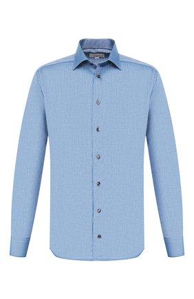 Мужская хлопковая сорочка ETON синего цвета, арт. 1000 00829 | Фото 1
