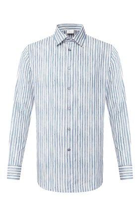 Рубашка из смеси хлопка и шелка   Фото №1