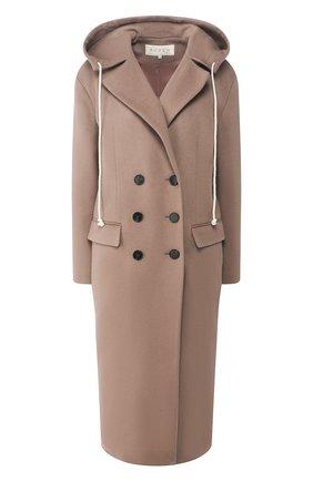 Женское пальто с капюшоном RUBAN серого цвета, арт. RРS20 - 1.1.310.19 | Фото 1