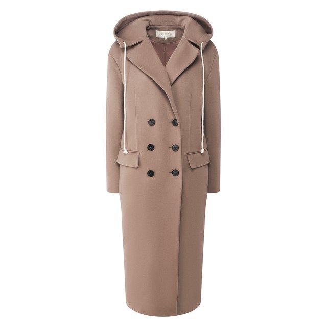 Пальто с капюшоном Ruban