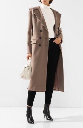 Женское пальто с капюшоном RUBAN серого цвета, арт. RРS20 - 1.1.310.19 | Фото 2