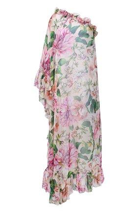Женское шелковое платье DOLCE & GABBANA розового цвета, арт. F6F1LT/IS1AF | Фото 1