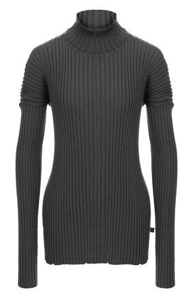 Женская шерстяная водолазка BOTTEGA VENETA серого цвета, арт. 601720/VKJS0 | Фото 1