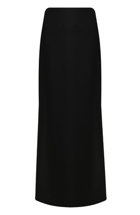 Женская шерстяная юбка VALENTINO черного цвета, арт. TB3RA5G154S | Фото 1