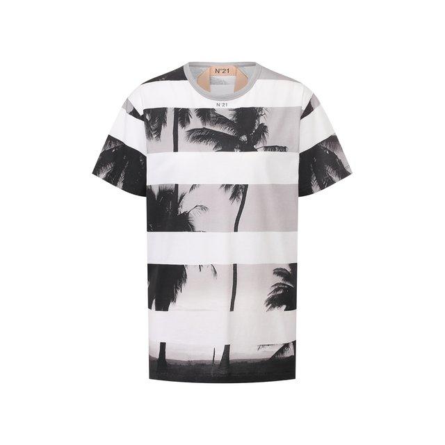 Хлопковая футболка N21