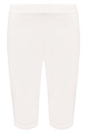 Женские шорты BEN TAVERNITI UNRAVEL PROJECT белого цвета, арт. UWHM002R20KNI0010404   Фото 1