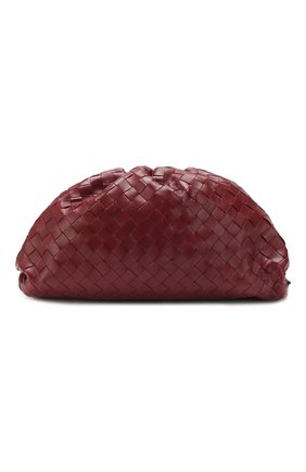Женский клатч the pouch BOTTEGA VENETA бордового цвета, арт. 576175/VCPP0 | Фото 1