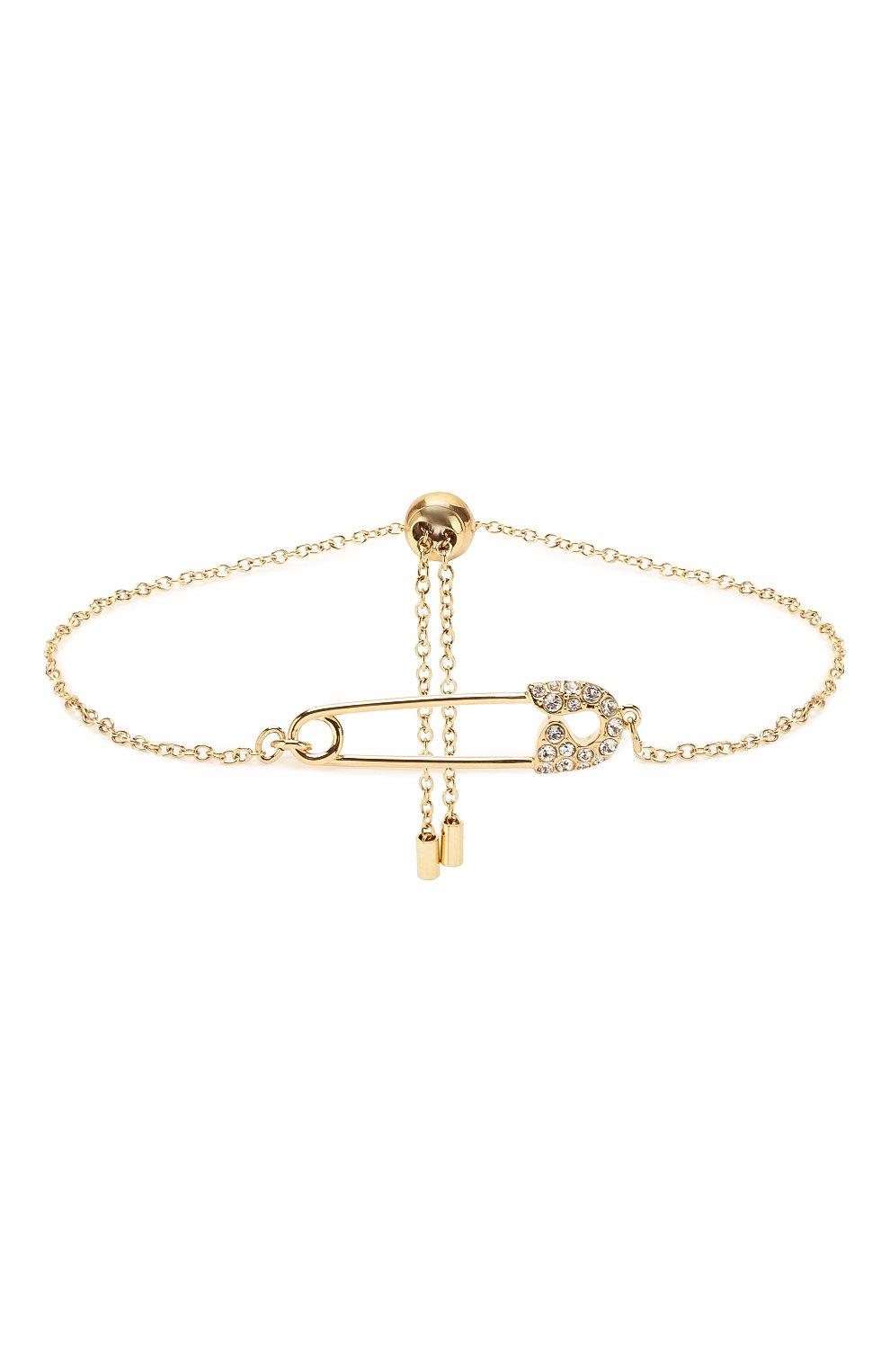 Женский браслет so cool pin SWAROVSKI золотого цвета, арт. 5512739 | Фото 1