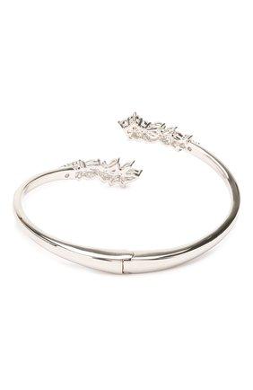 Женский браслет-кафф botanical SWAROVSKI серебряного цвета, арт. 5535872 | Фото 2