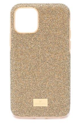 Мужской чехол для iphone 11 pro SWAROVSKI золотого цвета, арт. 5533961 | Фото 1