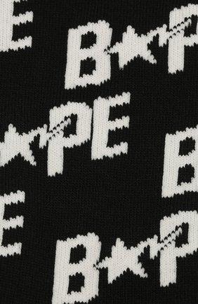 Мужские носки BAPE черно-белого цвета, арт. 1G20183002 | Фото 2