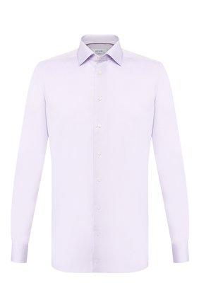 Мужская хлопковая сорочка ETON сиреневого цвета, арт. 3000 79513 | Фото 1