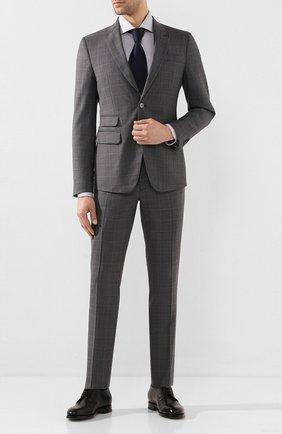 Мужской шерстяной костюм DSQUARED2 серого цвета, арт. S74FT0392/S52542 | Фото 1