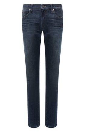Мужские джинсы PAIGE темно-синего цвета, арт. M655C72-7458 | Фото 1