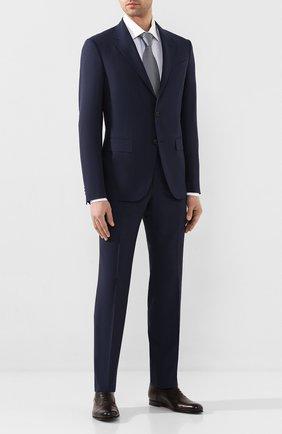 Мужской шерстяной костюм ERMENEGILDO ZEGNA синего цвета, арт. 722594/20PWKL | Фото 1