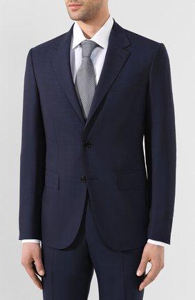 Мужской шерстяной костюм ERMENEGILDO ZEGNA синего цвета, арт. 722594/20PWKL | Фото 2