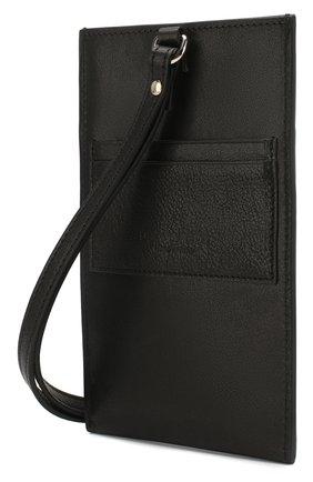 Мужской кожаный футляр для кредитных карт DSQUARED2 черного цвета, арт. P0M0012 12902618 | Фото 2