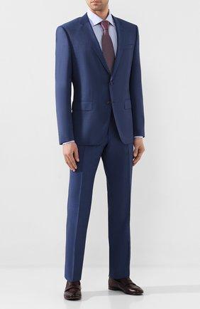 Мужские кожаные пенни-лоферы H`D`S`N BARACCO бордового цвета, арт. 70400.10* | Фото 2
