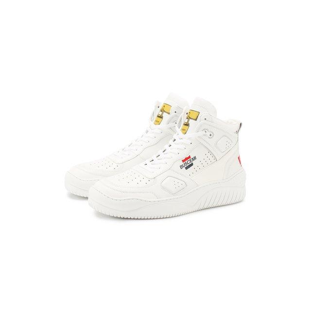 Кожаные кроссовки Buscemi — Кожаные кроссовки