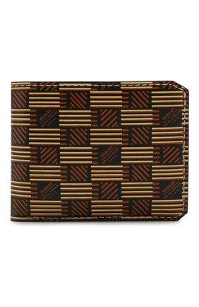 Мужской кожаное портмоне MOREAU коричневого цвета, арт. PW3C03I0V0STSTB | Фото 1