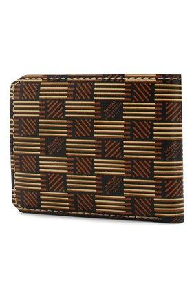 Мужской кожаное портмоне MOREAU коричневого цвета, арт. PW3C03I0V0STSTB | Фото 2