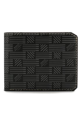 Мужской кожаное портмоне MOREAU темно-серого цвета, арт. PW3C03I0V0STSTB | Фото 1