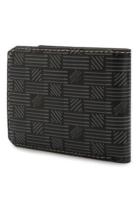 Мужской кожаное портмоне MOREAU темно-серого цвета, арт. PW3C03I0V0STSTB | Фото 2