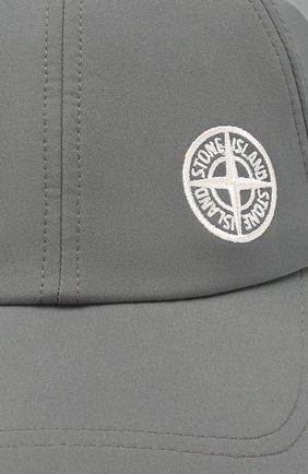 Мужской бейсболка STONE ISLAND темно-серого цвета, арт. 721599227 | Фото 3