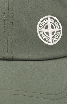 Мужской бейсболка STONE ISLAND хаки цвета, арт. 721599227 | Фото 3