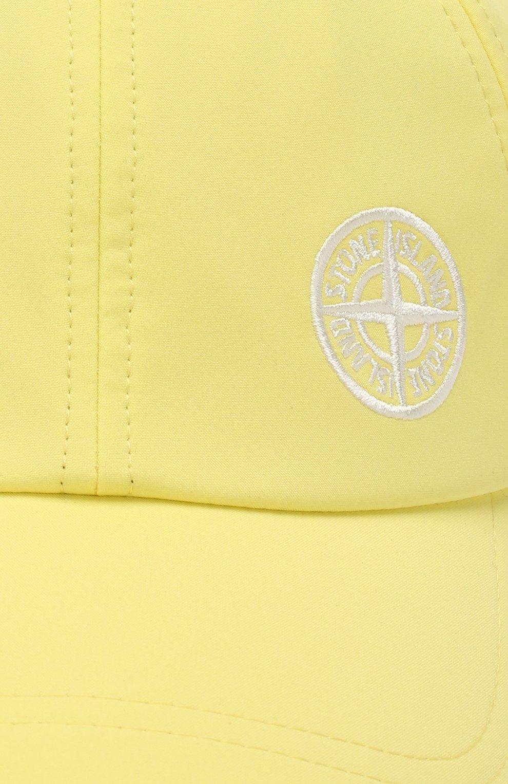 Мужской бейсболка STONE ISLAND желтого цвета, арт. 721599227 | Фото 3