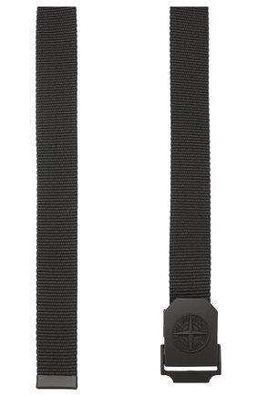 Мужской текстильный ремень STONE ISLAND черного цвета, арт. 721594071 | Фото 2
