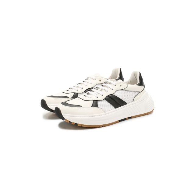 Комбинированные кроссовки Bottega Veneta — Комбинированные кроссовки