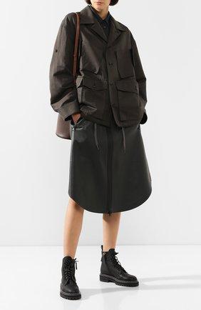 Льняная куртка | Фото №2