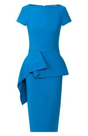 Женское платье ROLAND MOURET синего цвета, арт. PS20/S0745/F2196 | Фото 1