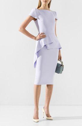 Женское платье ROLAND MOURET голубого цвета, арт. PS20/S0745/F2196 | Фото 2