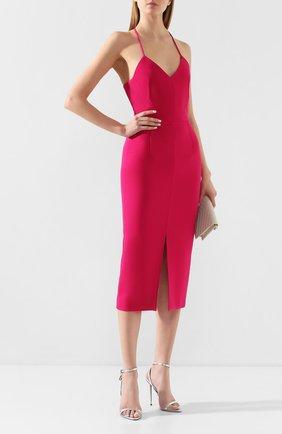 Женское платье ROLAND MOURET фуксия цвета, арт. PS20/S0861/F2196 | Фото 2