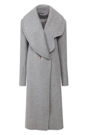 Женское шерстяное пальто REJINA PYO серого цвета, арт. A087/W00L   Фото 1