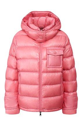Женский пуховая куртка turquin MONCLER розового цвета, арт. F1-093-1A507-00-C0384 | Фото 1