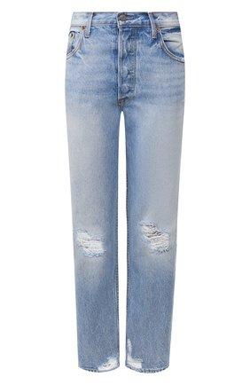Женские джинсы GRLFRND голубого цвета, арт. GF40058501198 | Фото 1