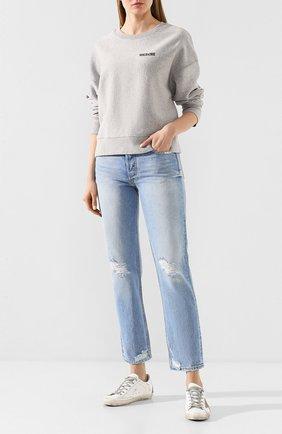 Женские джинсы GRLFRND голубого цвета, арт. GF40058501198 | Фото 2