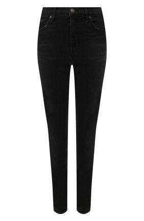 Женские джинсы GRLFRND черного цвета, арт. GF40099501206 | Фото 1
