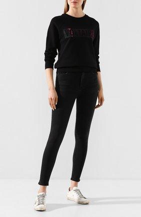 Женские джинсы GRLFRND черного цвета, арт. GF40099501206 | Фото 2