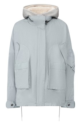 Женская двусторонняя куртка YS ARMY PARIS голубого цвета, арт. 20EFV03664H01X | Фото 1